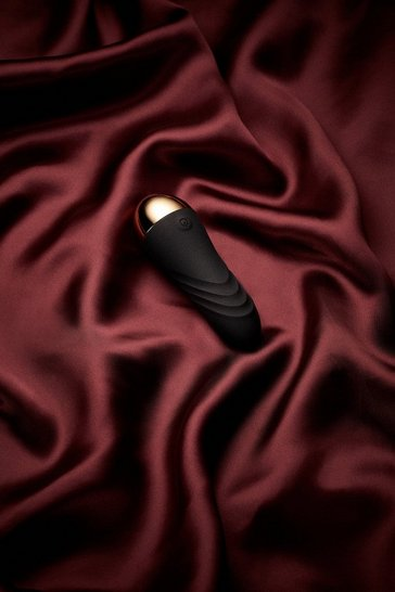 Black Soft Touch Bullet Massager