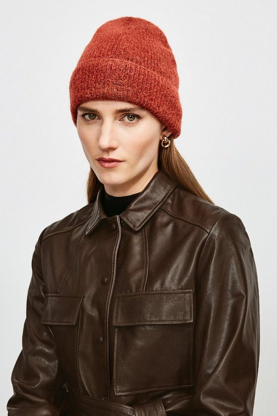 Rust Super Soft And Cosy Hat