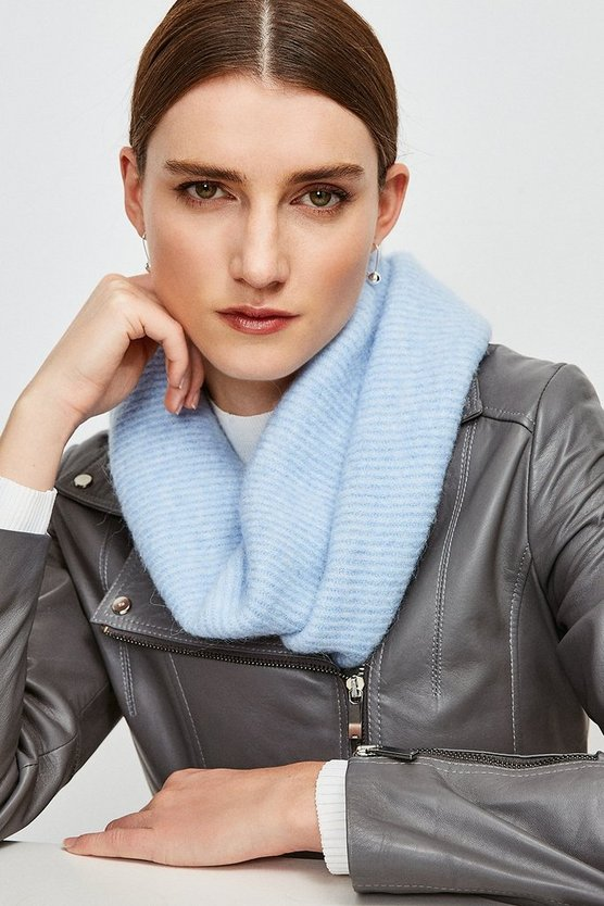 Pale blue Supersoft and Cosy Snood