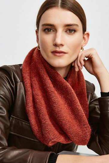Rust Alpaca Blend Snood