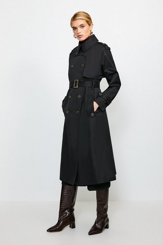 Black Classic Trench