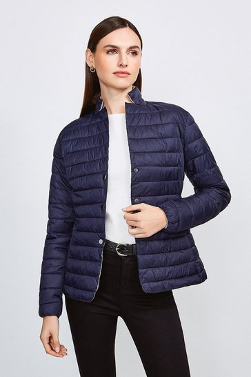 Navy Lightweight Padded Jacket