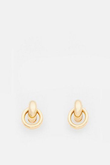 Gold Plated Chic Mini Studs