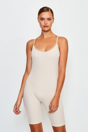 Nude Smoothing Essentials Strappy Unitard