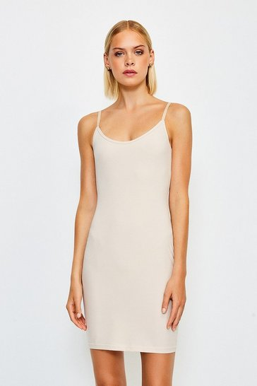 Nude Smoothing Essentials Strappy Slip Dress