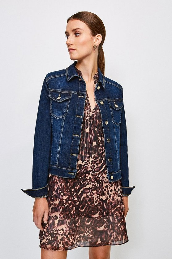 Dark wash Classic Denim Jacket