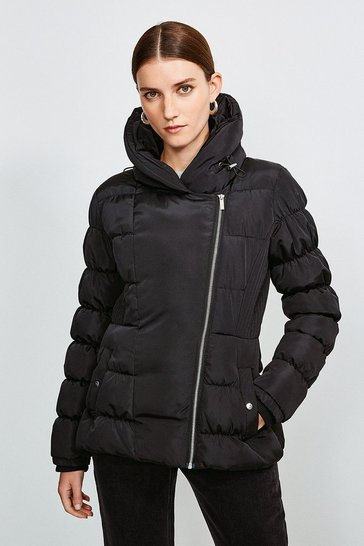 Black Short Padded Jacket
