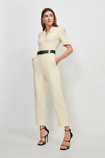 Cream Forever Jumpsuit