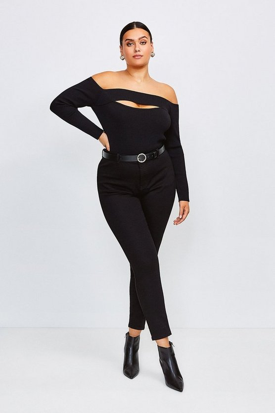 Black Curve Power Stretch Jegging