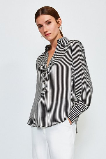 Stripe Striped Printed Shirt