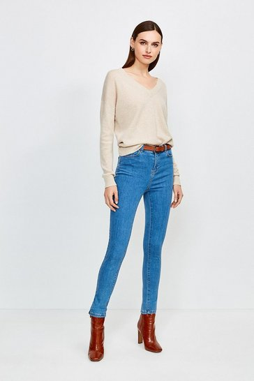 Light wash 5 Pocket Stretch Jean
