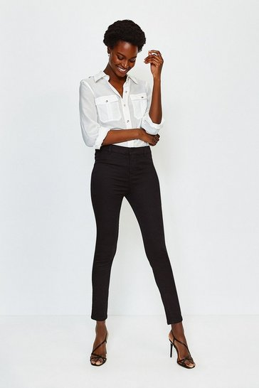 Black Power Stretch Jegging