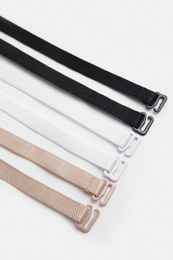 3 Pack Multi Bra Strap