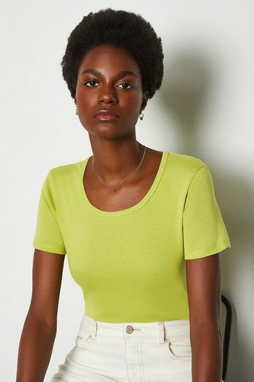 Lime Crew Neck T-Shirt