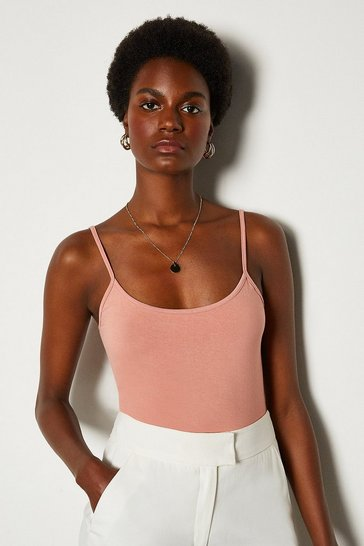 Blush Basic Strappy Jersey Cami