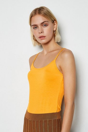 Orange Essential Jersey Vest