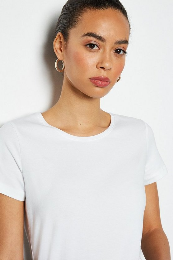 White Essential Short Sleeve Tee