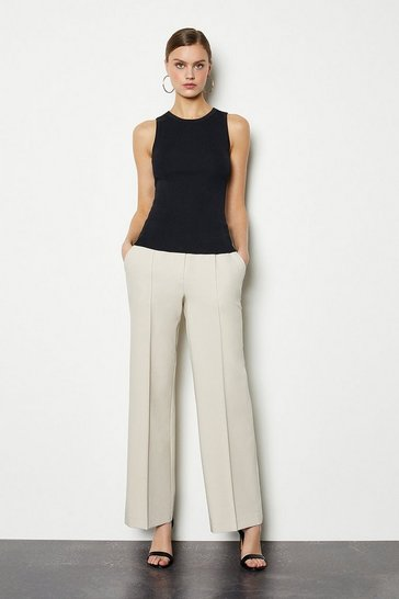 Stone Tailored Track Style Trousers