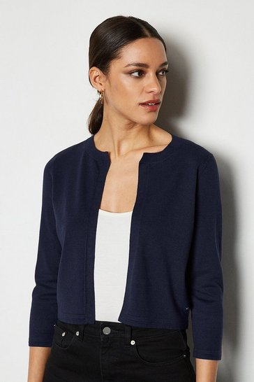 Blue Essential Cardigan