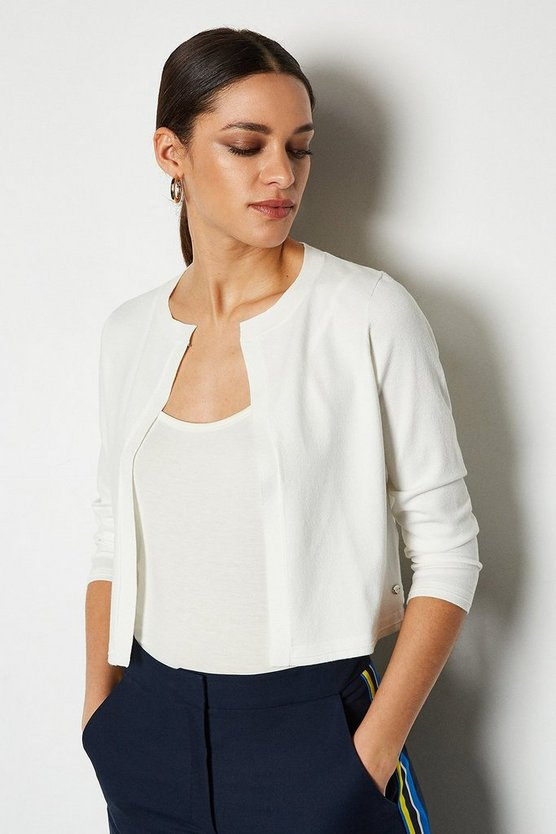 Ivory Essential Cardigan