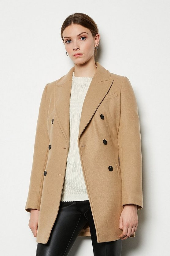 Camel Investment Coat