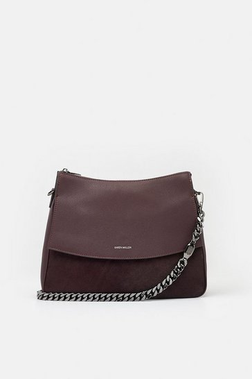 Dark red Regent Shoulder Bag