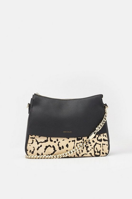 Leopard Regent Shoulder Bag