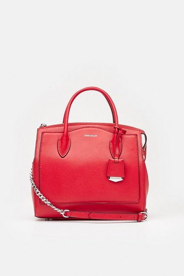 Womens Red Mini Crossbody Bag