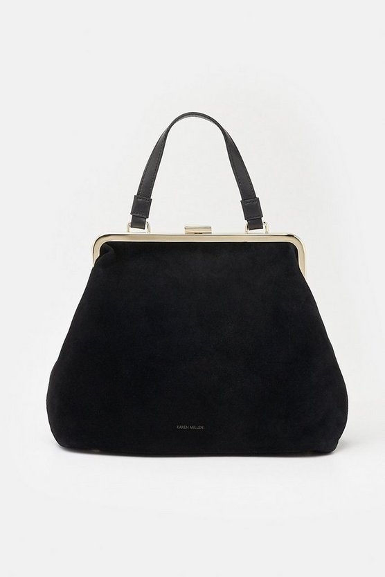 Black Frame Day Bag