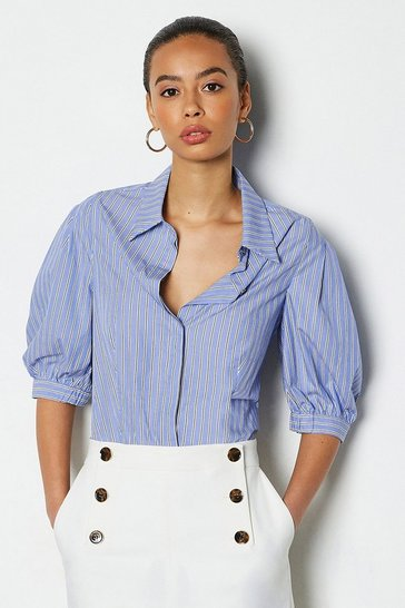 Stripe Full Sleeve Shirt