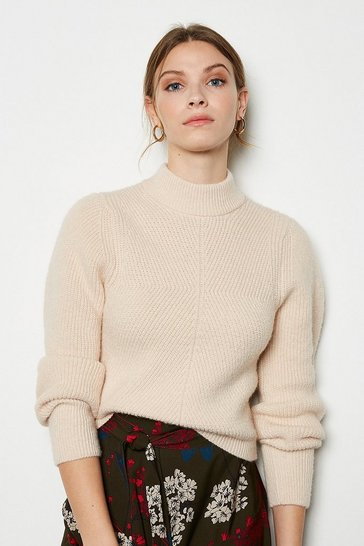 Blush Compact Knit Jumper