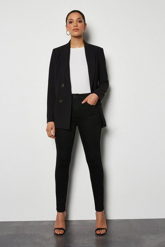 Power Stretch Black Skinny Jeans