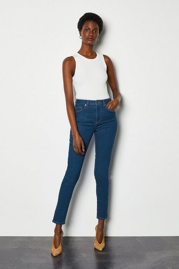 Vintage blue Power Stretch Vintage Skinny Jeans