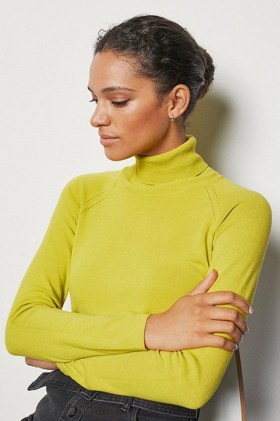 Lemon Essential Roll Neck Jumper