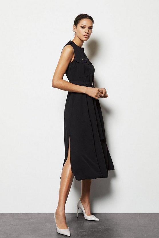 Belted Shirt Dress Belted Shirt Dress by Karen Millen