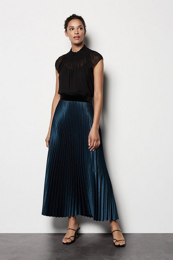 Blue Luxe Skirt