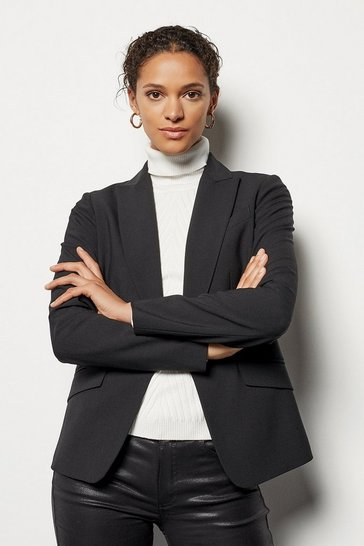 Womens Black Investment Tailoring Jacket