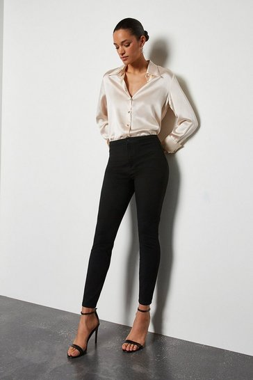 Womens Black Skinny Jeans