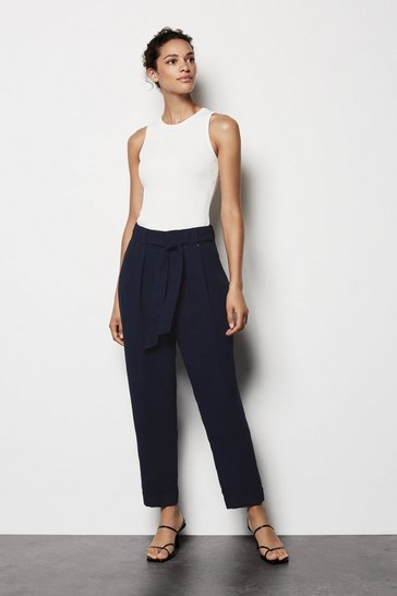 Womens Navy Utility Trouser