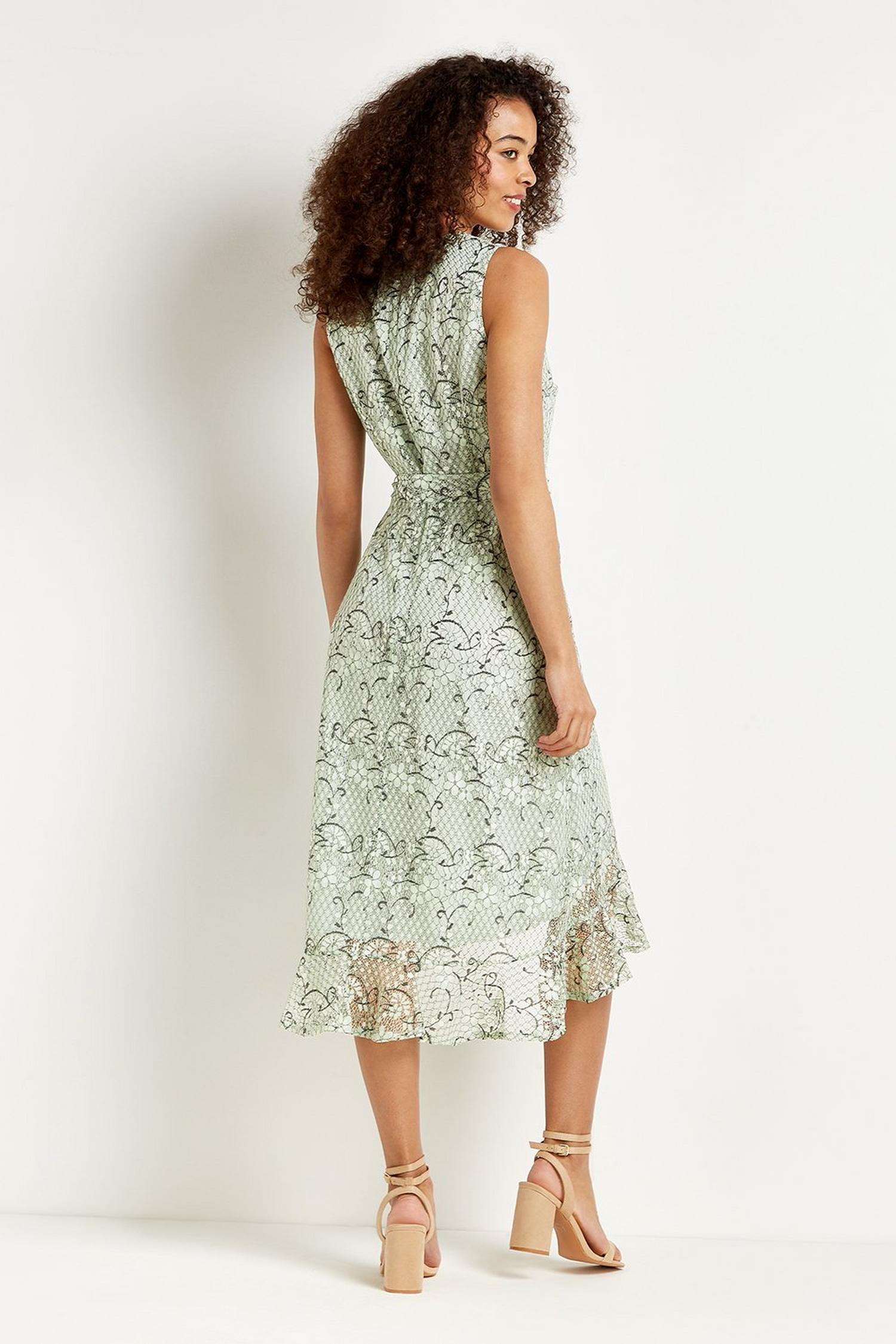 143 Lace Ruffle Dress  image number 3