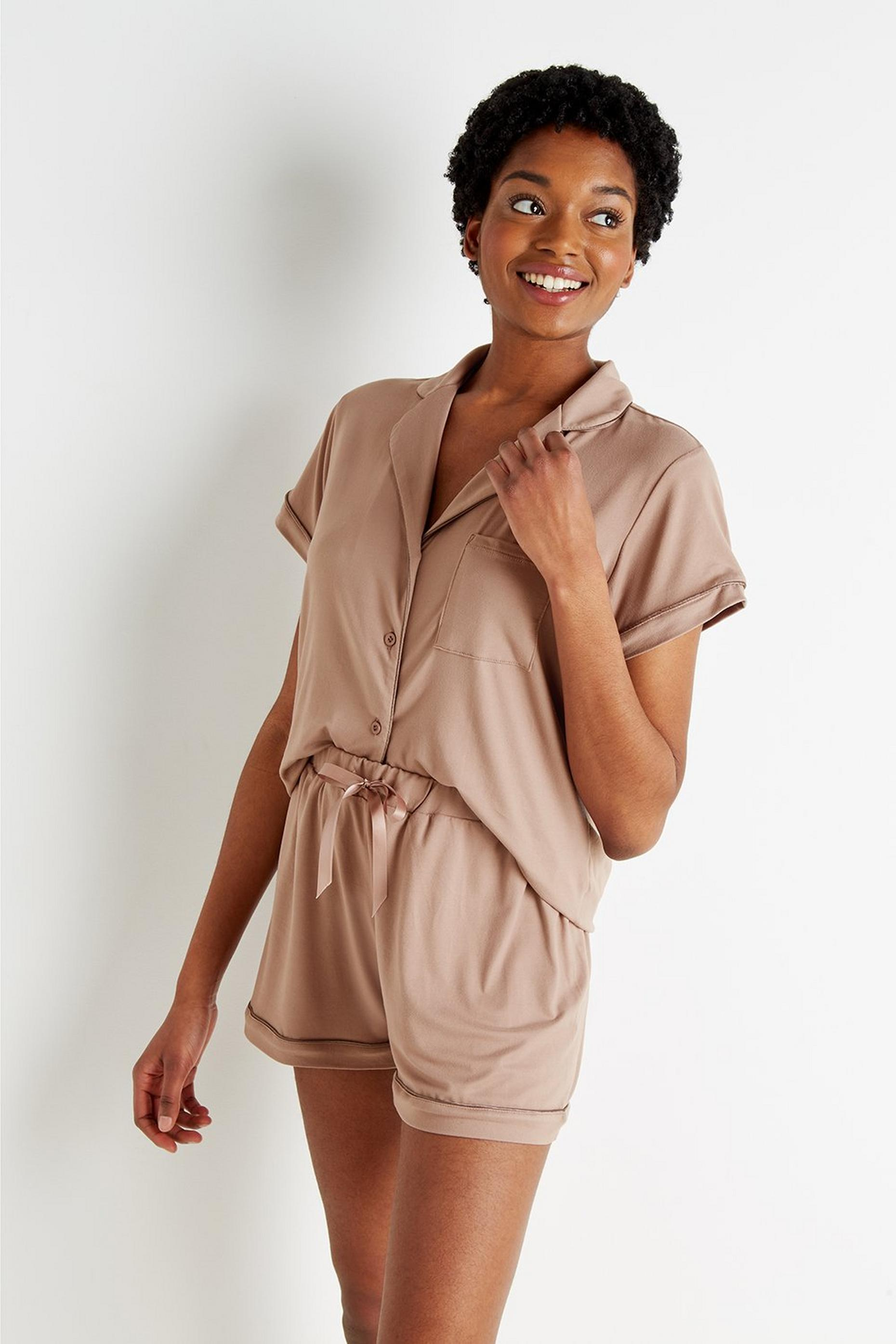 Loungeable Short Sleeve Pj Set