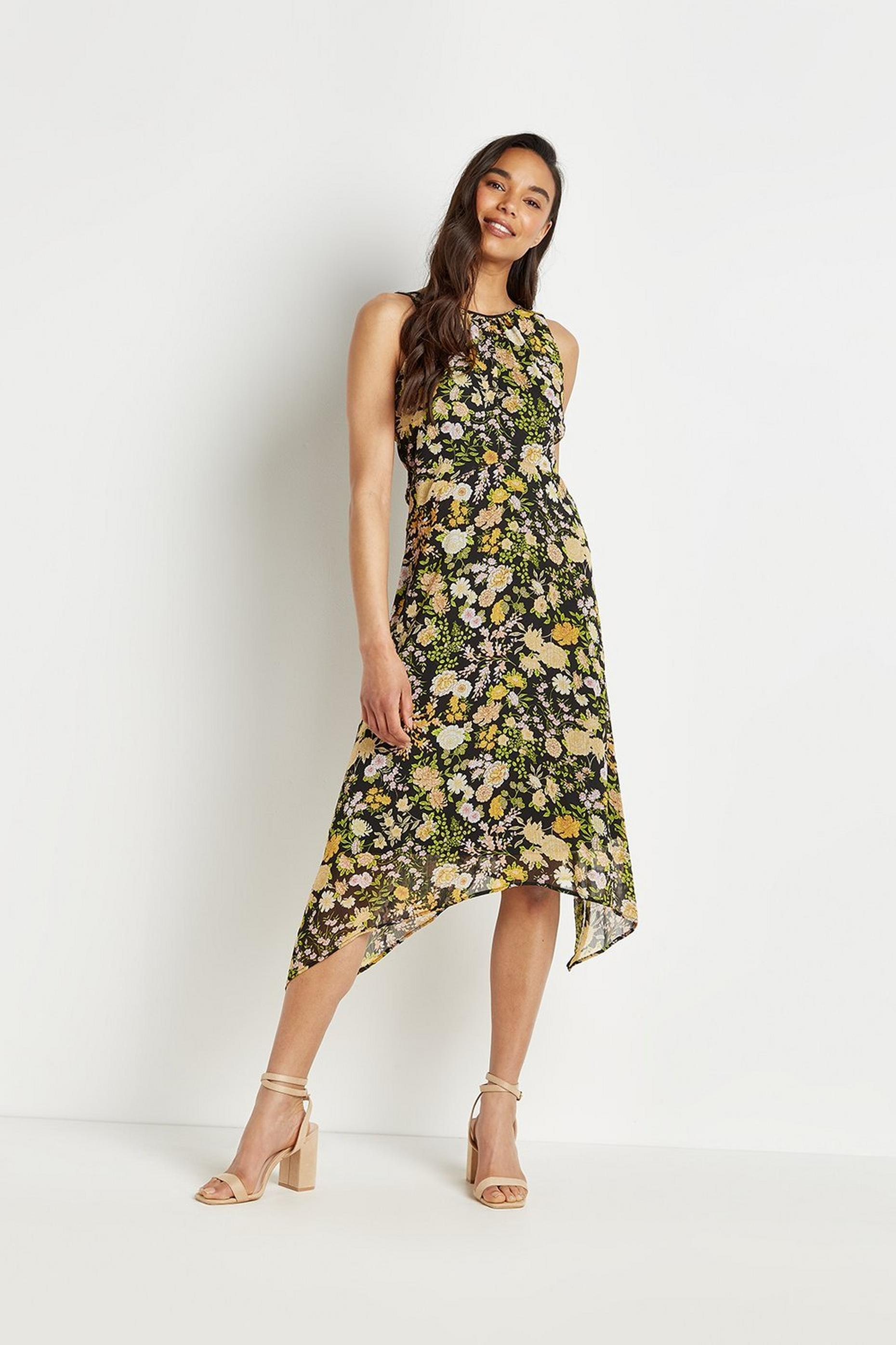 Petite Ditsy Floral Dress