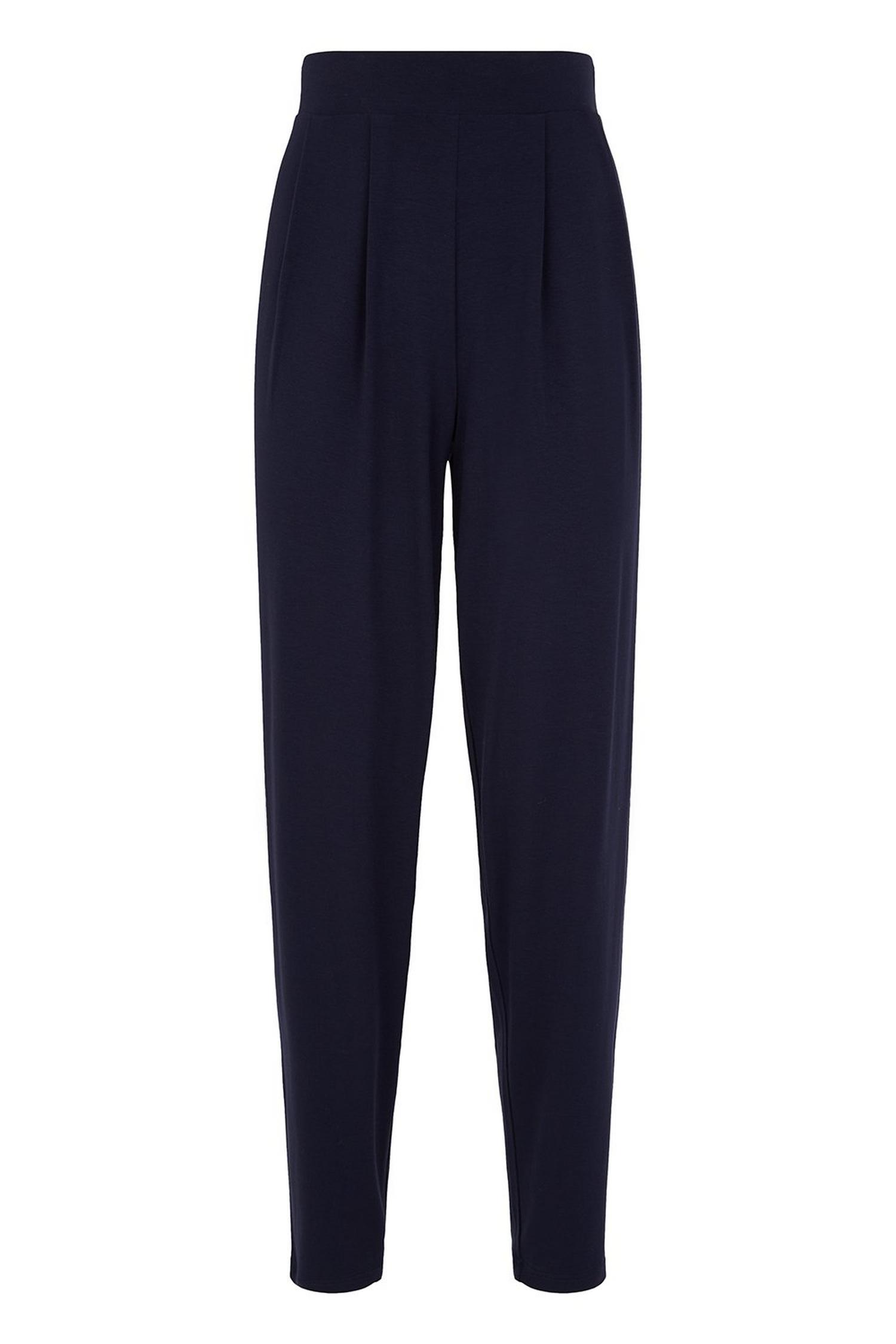 148 TALL Navy Tapered Trousers image number 2