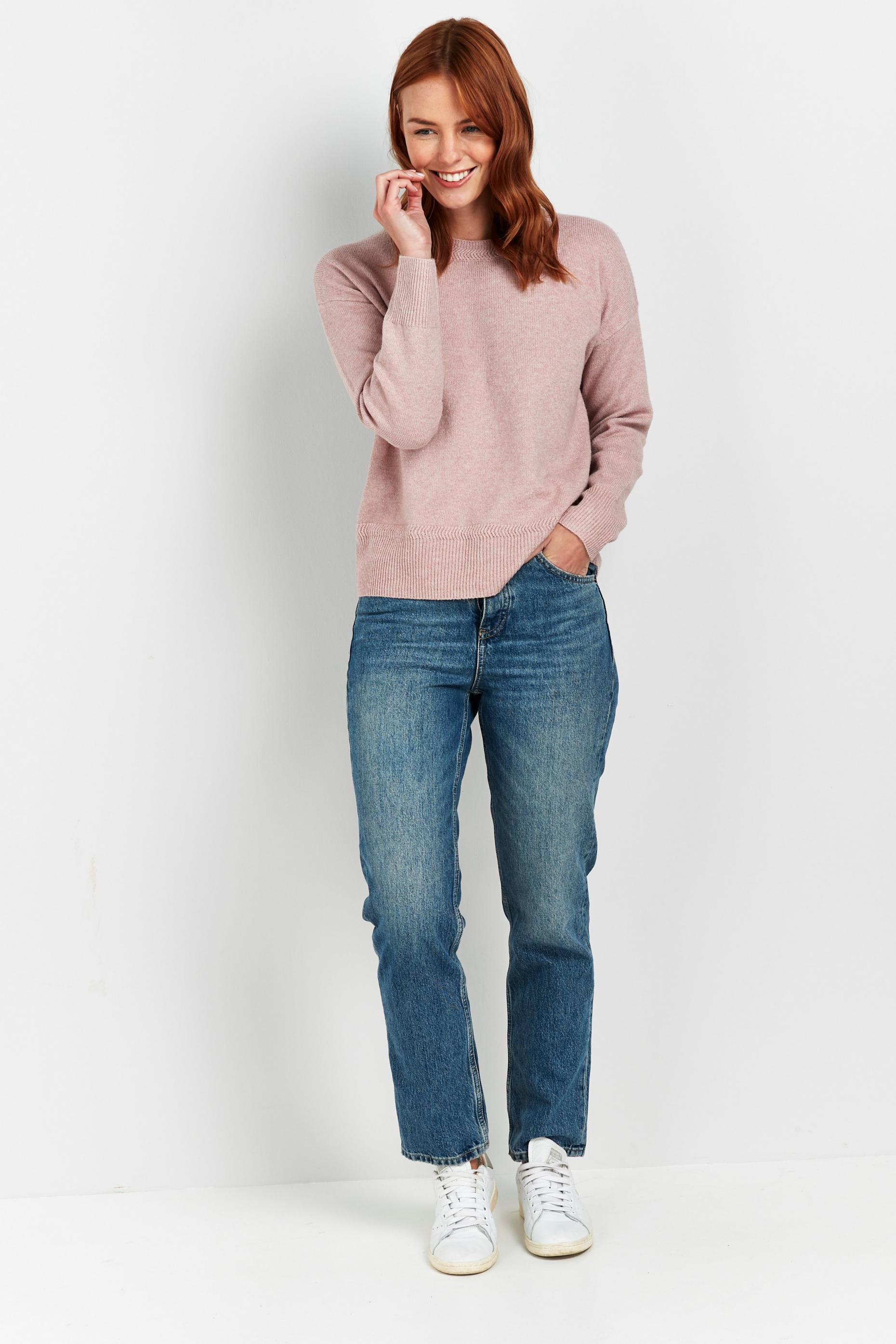 Blush Crew Neck Jumper