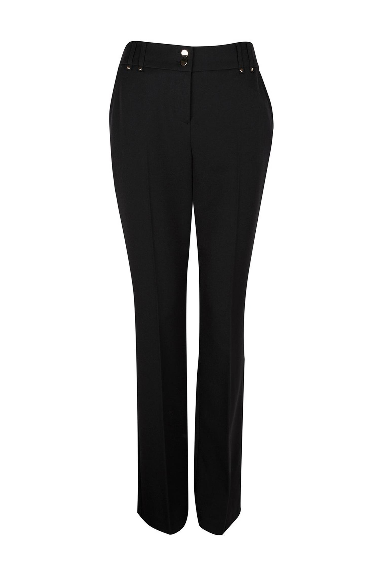 105 Black Bootcut Trousers image number 1
