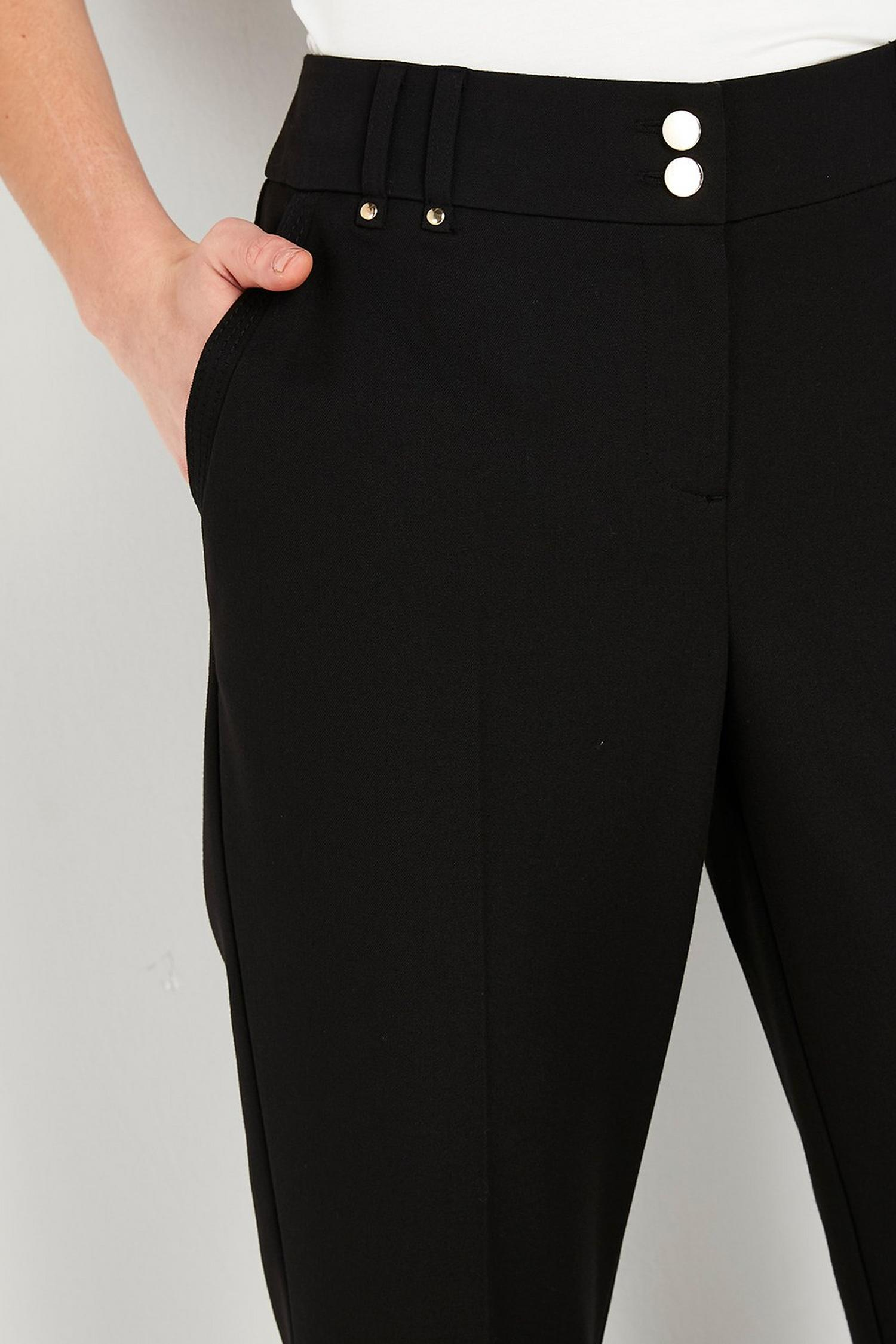 105 Black Bootcut Trousers image number 4