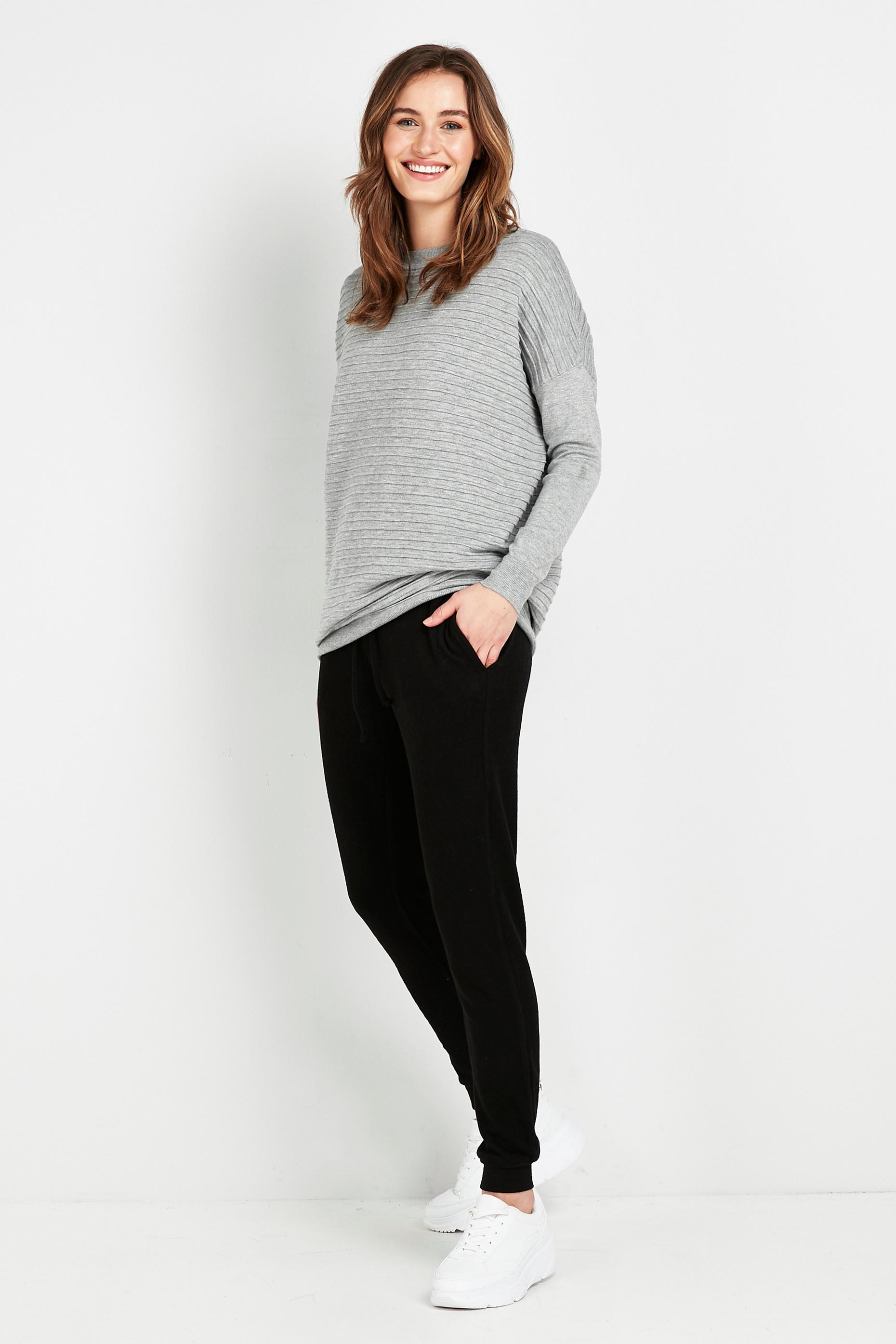 TALL Black Relaxed Soft Joggers