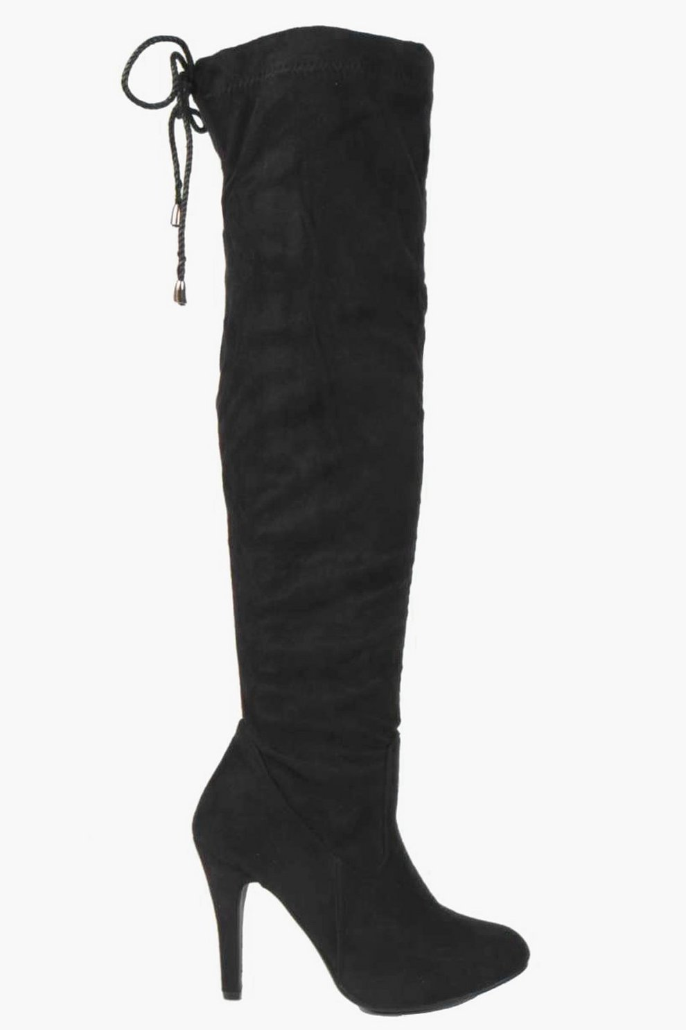 ba134554ef9c Stretch Over Knee The Pointed Boots