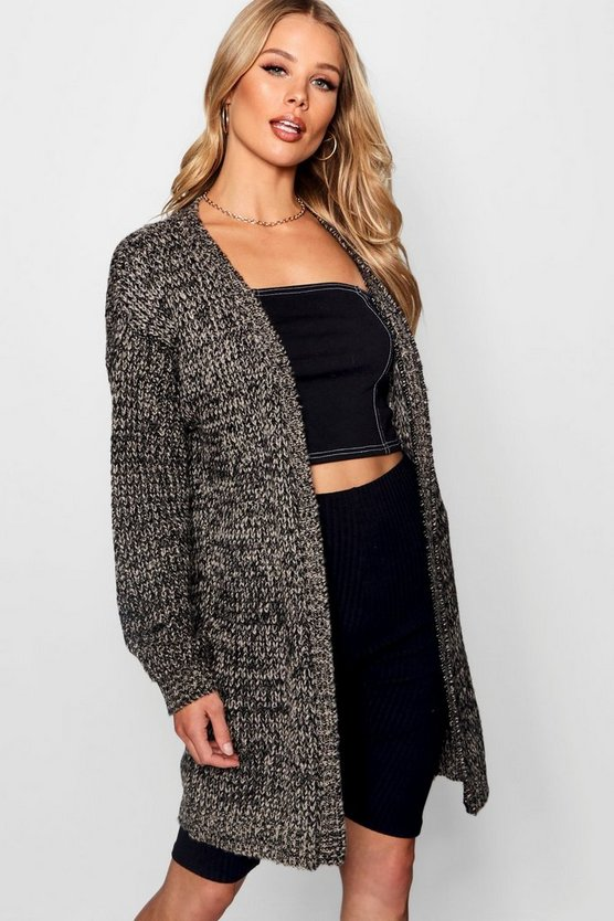 Long Edge To Edge Maxi Cardigan