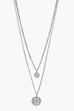 Rosie Double Chain Layered Necklace